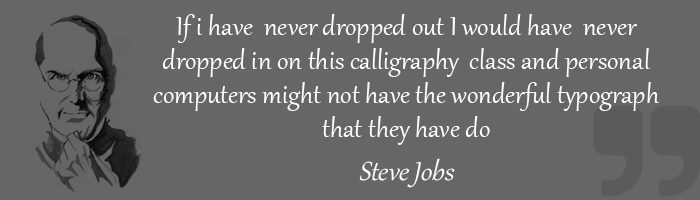 steve jobs thought
